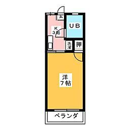 ミーム御器所[1階]の間取り