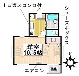 愛知県名古屋市千種区猫洞通1丁目の賃貸マンションの間取り