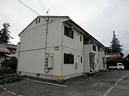 長野県松本市大字島立の賃貸アパートの外観