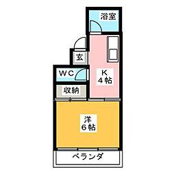 フルカワ第1ビル[3階]の間取り
