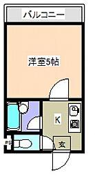 ハイツマドカ[2階]の間取り