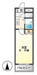 GRAVINA[4階]の間取り