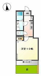 ソレイユII(円城寺)[1階]の間取り
