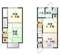 [テラスハウス] 愛媛県宇和島市丸之内4丁目 の賃貸【/】の間取り