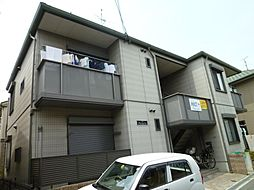 大阪府摂津市香露園の賃貸アパートの外観