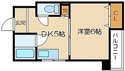 メゾンドゥレイナIII[2階]の間取り
