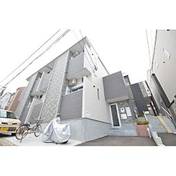 福岡県福岡市東区箱崎4丁目の賃貸アパートの外観