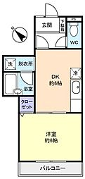 KYハイツ[2階]の間取り