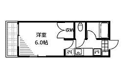 ミナジャメールコバヤシ[1階]の間取り