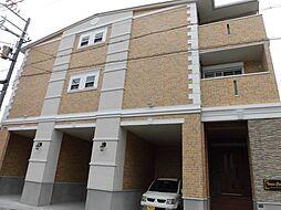 兵庫県神戸市中央区宮本通5丁目の賃貸アパートの外観