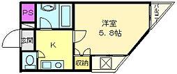 メゾン白鷺[4階]の間取り
