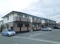 愛媛県松山市土居町の賃貸アパートの外観