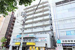 東京都昭島市昭和町2丁目の賃貸マンションの外観