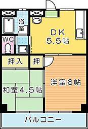 中村ビル[2階]の間取り