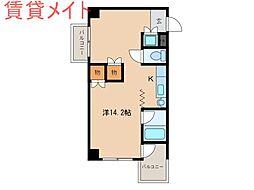 Sパレスカメヤマ[3階]の間取り