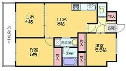 第23川崎ビル[5階]の間取り