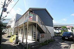 大阪府豊中市箕輪2の賃貸アパートの外観