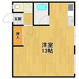 メイフェア伊丹2[2階]の間取り