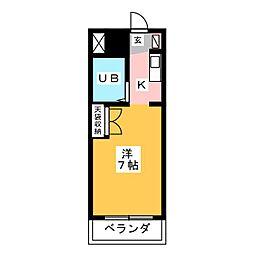 エスポワール高辻[1階]の間取り