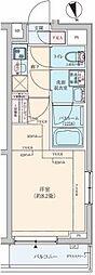 ロアール板橋桜川[423号室]の間取り