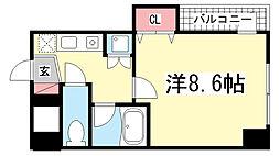 カーサ神戸下山手[4階]の間取り