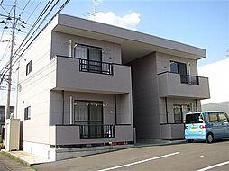 栃木県佐野市大橋町の賃貸アパートの外観