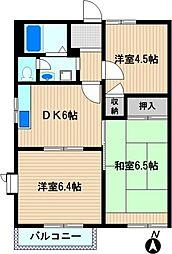 東小倉ハイム[1階]の間取り
