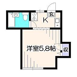 メゾンプラネット[2階]の間取り