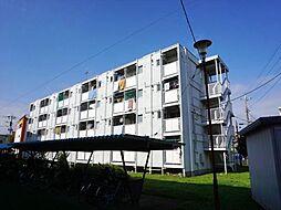 ビレッジハウス勝田4号棟[4階]の外観