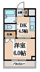 ツインコンフォート岩崎[5階]の間取り