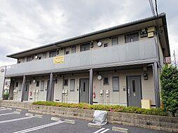 東京都東大和市仲原3の賃貸アパートの外観
