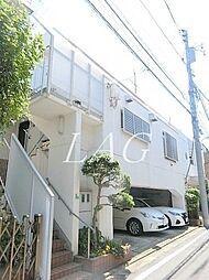 東京都目黒区中町1丁目の賃貸マンションの外観