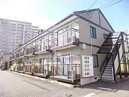 長野県長野市三輪5丁目の賃貸アパートの外観