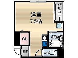 エクレールミヤケ[5階]の間取り