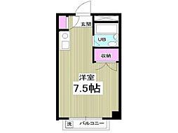 エルム高幡 A棟[2階]の間取り