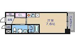 NBコート玉造[6階]の間取り