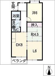 第2マンションイトキ[3階]の間取り