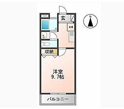マンション大洋II[B-2号室]の間取り
