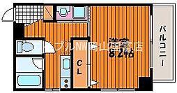 スタシオン電車みち[5階]の間取り