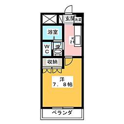プレッソリーバ玉ノ井[2階]の間取り