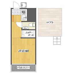 PIA5[2階]の間取り