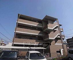 京都府京都市右京区太秦多藪町の賃貸マンションの外観