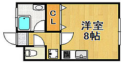 昭和マンション[2階]の間取り