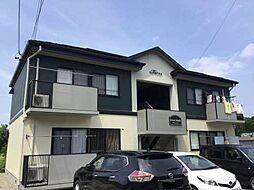 長野県長野市篠ノ井塩崎の賃貸アパートの外観