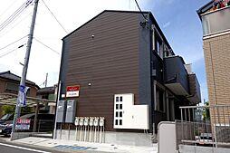 東京都日野市大字日野の賃貸アパートの外観