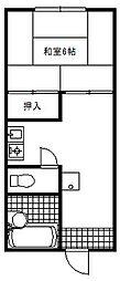 栄コーポ[105号室]の間取り