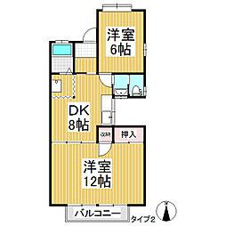 ホームウィズペット[2階]の間取り