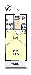 Aqua(アクア)[2階]の間取り