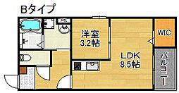 Dreamin[2階]の間取り