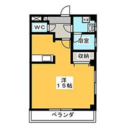 Nマンション[2階]の間取り